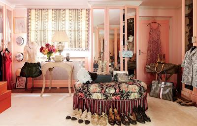 Caroline sieber london home-dressing room-belle vivir blog
