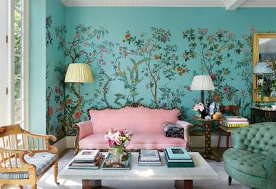 Caroline sieber london home living room via belle vivir blog