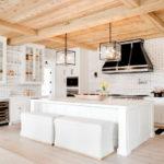 A Dreamy Black and White Kitchen