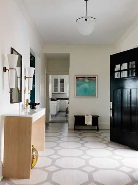 graphic patterned floor ideas