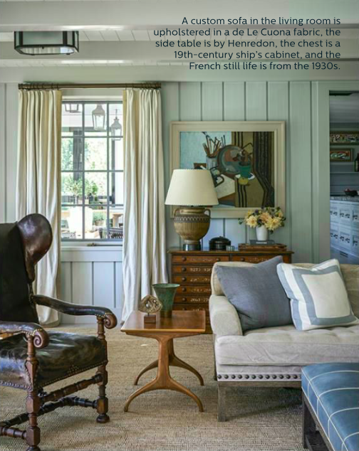 2 Steven Gambrel Bridgehampton living room sagharbor belle vivir blog