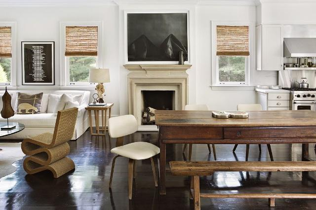 julie hillman design living kithchen via belle vivir blog