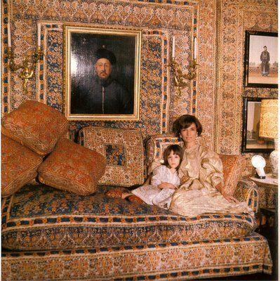 The Kaftan lee radziwil turkish drawing room belle vivir