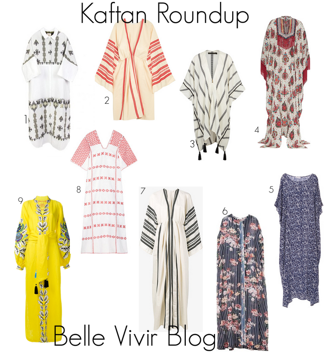The Kaftan: A Roundup of The Essential Loungewear Item