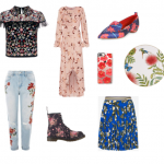Flowers for Fall:  A Roundup of Fall-Flower Fashion Pieces
