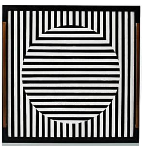 belle vivir sale suggestions kelly behun studio square black and white tray