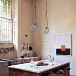 Rose Uniacke:  Her kitchen two looks