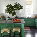 Two Tone Kitchens: Contrasting Cabinets