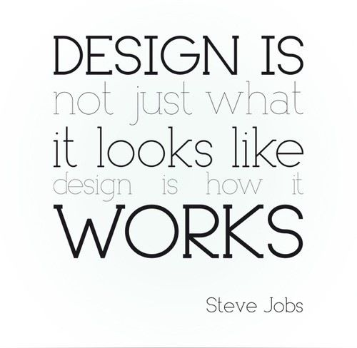 Wednesday Quote Steve Jobs Interiordesign Bellevivir