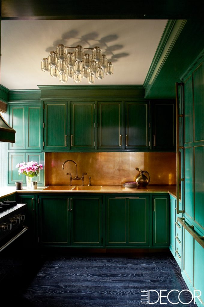 Colorful kitchens, Green