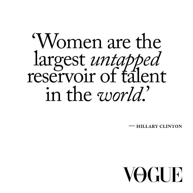 Hillary Clinton Quote On Women