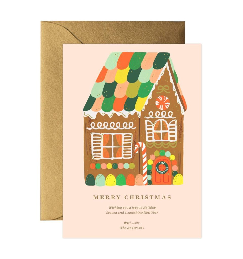 The Most Beautiful Vintage Inspired Christmas Cards  