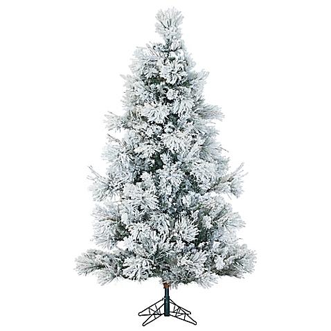 pre lit led snowy christmas tree bed bath and beyond belle vivir