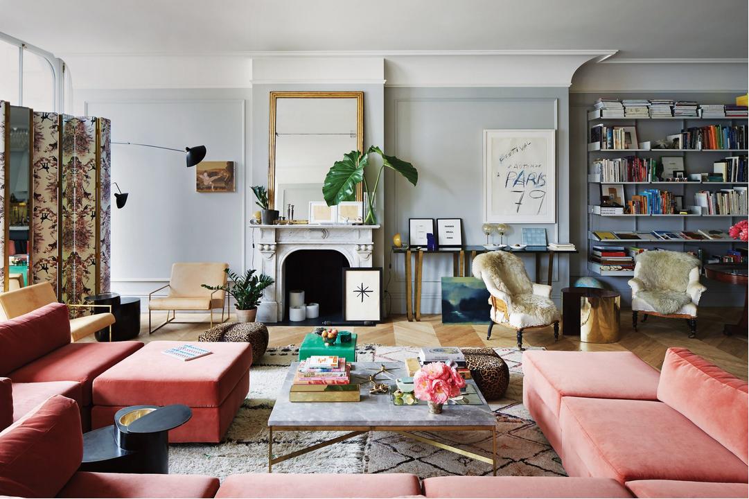 Jenna Lyons's Soho home. living room via belle vivir