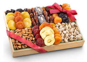 gift guide for women golden state fruit pacific coast deluxe dried fruit tray