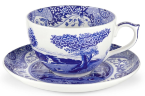 gift guide for women porcelain cup and saucer