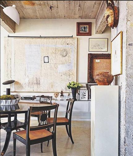 William Mclure design via belle vivir interior design blog