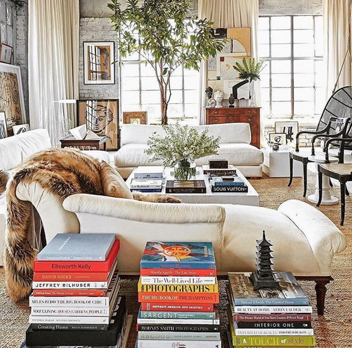 William Mclure living room via belle vivir interior design blog