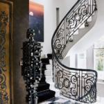 Designing A Home Around Contemporary Art: A Habitable Drama