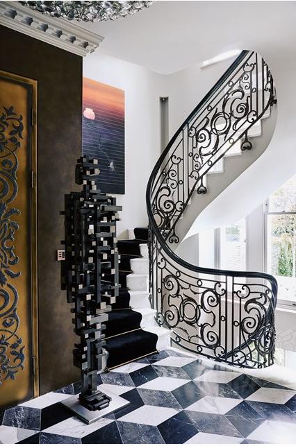 designing a home around contemporary art by Shalini Misra via belle vivir blog