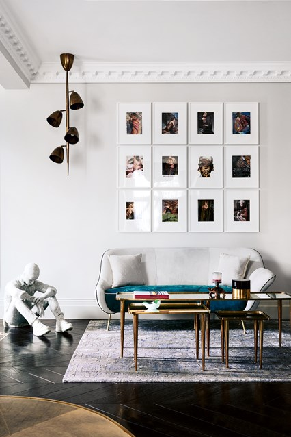 Designing A Home Around Contemporary Art: A Habitable Drama |