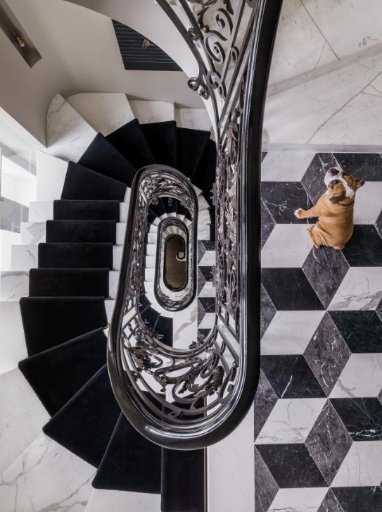 designing a home around contemporary art via belle vivir blog