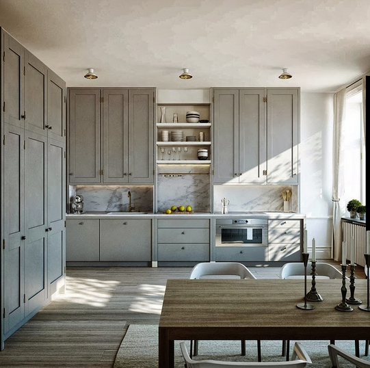 55 Functional And Inspired Kitchen Island Ideas And: Get Me A Gray Kitchen: Beautiful And Functional Kitchen