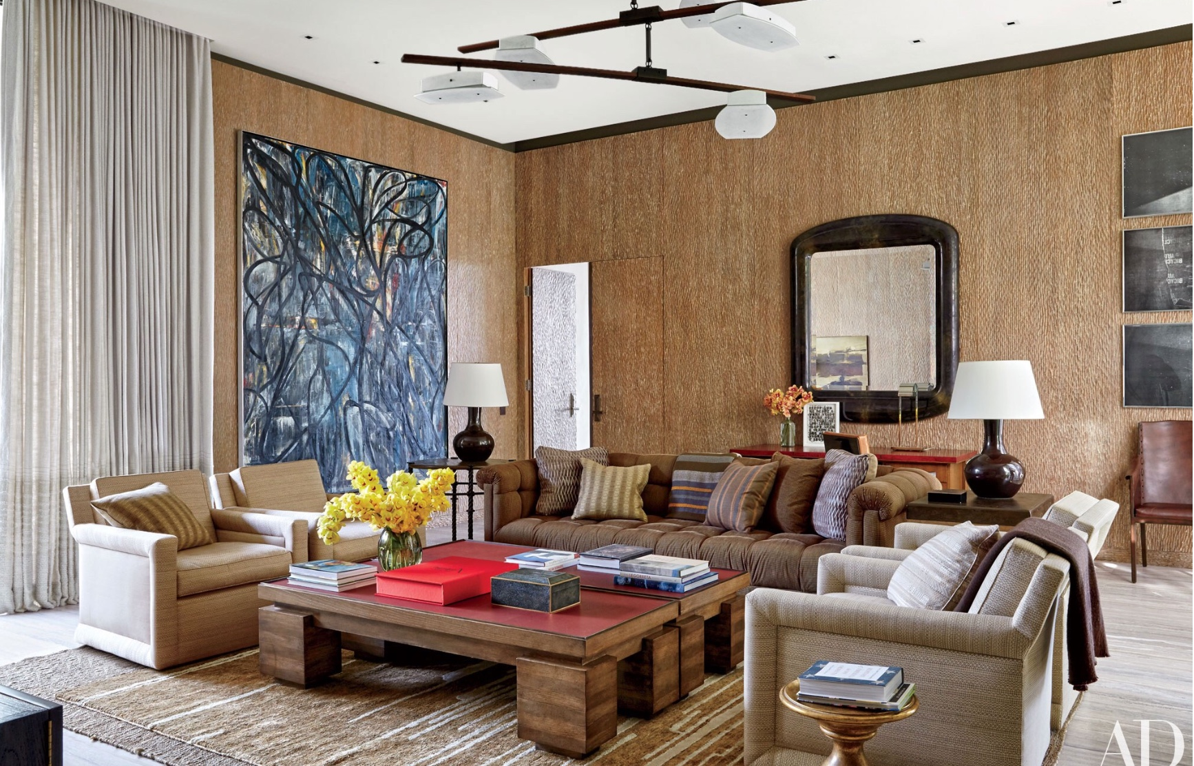 Palm Springs Style Via Michael S. Smith Living Room Via Belle Vivir Blog