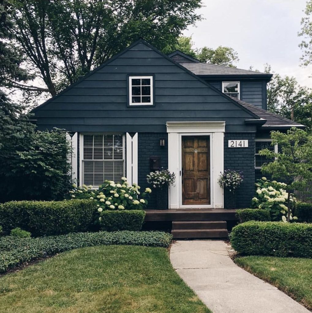 My favorite painted brick exterior paints - Pictures of painted exterior brick ...